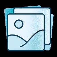 Icono imagen de referencia dentro del proceso creativo en el diseño de un buen logo