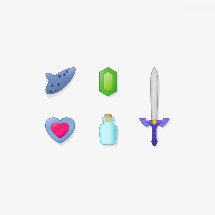 Iconos Legend of Zelda