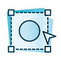 Icono digitalización de logosímbolo
