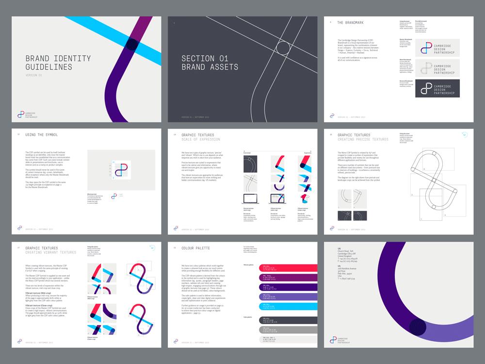 Cambridge Design Partnership Guidelines