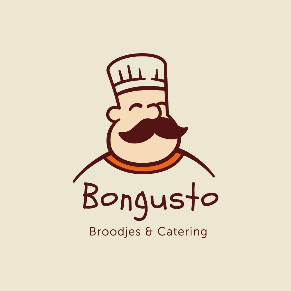 Logo Bongusto diseñado por Jessica Vaslam